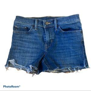 Levi's cheeky denim shorts